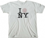 CONFESSIONS  ON A DANCE FLOOR - WHITE NEW YORK T-SHIRT
